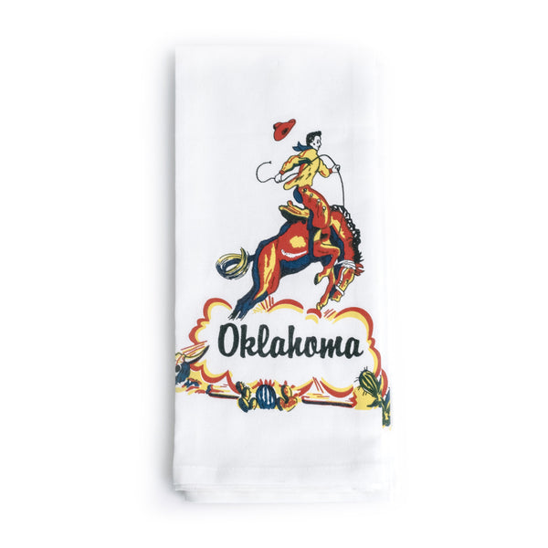 Oklahoma Cowboy Kitchen Towel - The Pioneer Woman Mercantile