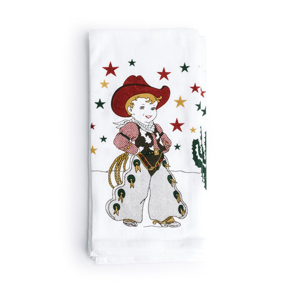 Little Cowboy Kitchen Towel