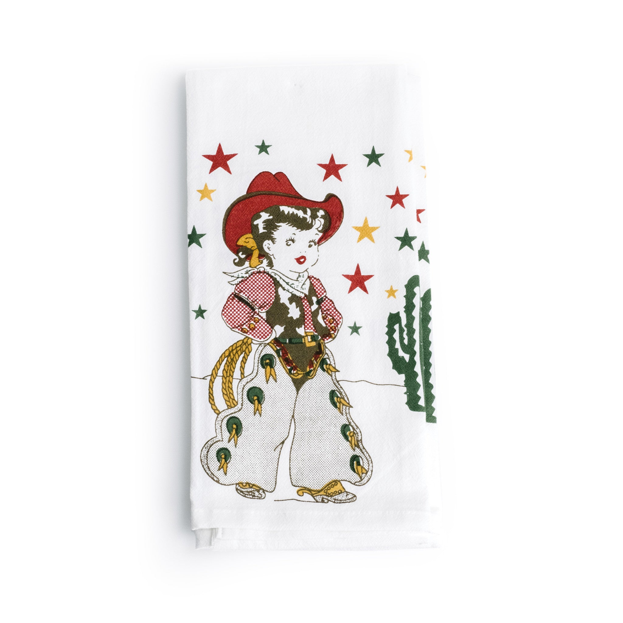 Little Cowgirl Kitchen Towel The Pioneer Woman Mercantile