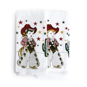 Little Cowgirl Kitchen Towel - The Pioneer Woman Mercantile