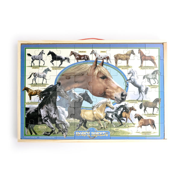 Horse Breed Puzzle