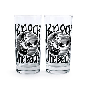 Knock One Back Glassware