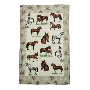 Horse Breed Kitchen Towel