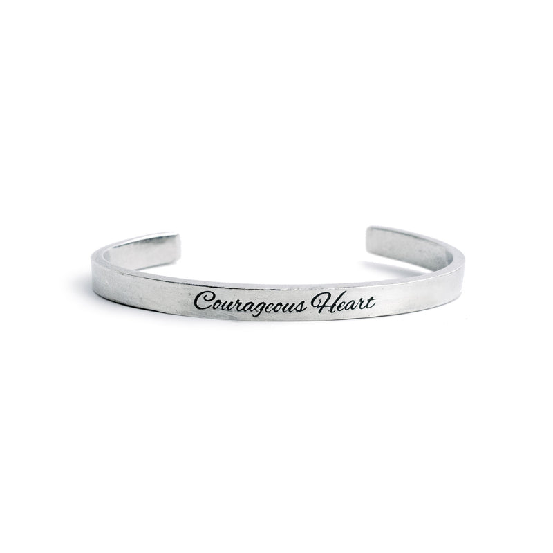 """Courageous Heart"" Cuff - The Pioneer Woman Mercantile"