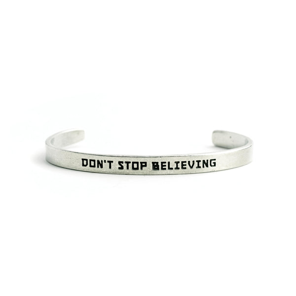 """Don't Stop Believing"" Cuff - The Pioneer Woman Mercantile"