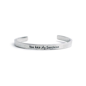 """You Are My Sunshine"" Cuff - The Pioneer Woman Mercantile"