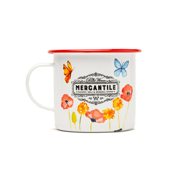 Red Butterfly Mercantile Mug
