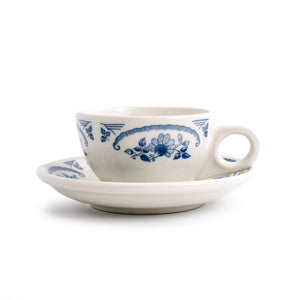 Boston American Rose Blue Saucer
