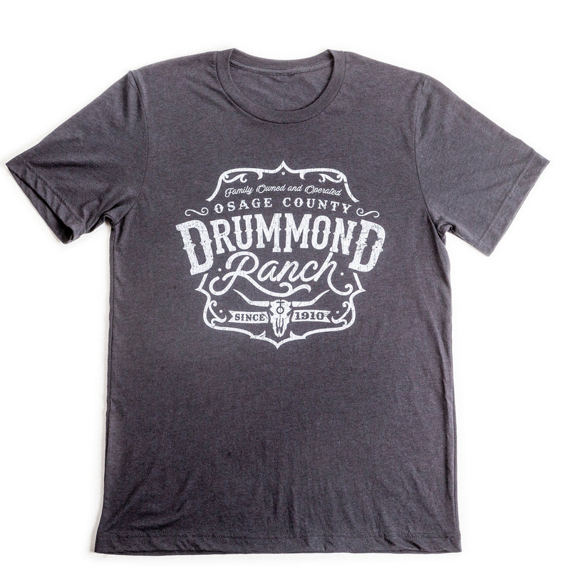 Solid Dark Grey Drummond Ranch Big Steer Shirt