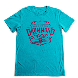 Teal TriBlend Drummond Ranch Big Steer Shirt