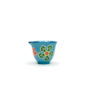 Blue Floral Stoneware Measuring Cup Set - The Pioneer Woman Mercantile