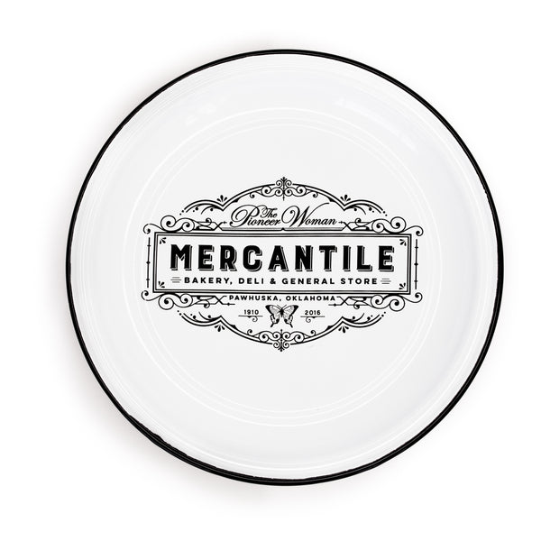 Mercantile Enamel Plates - The Pioneer Woman Mercantile
