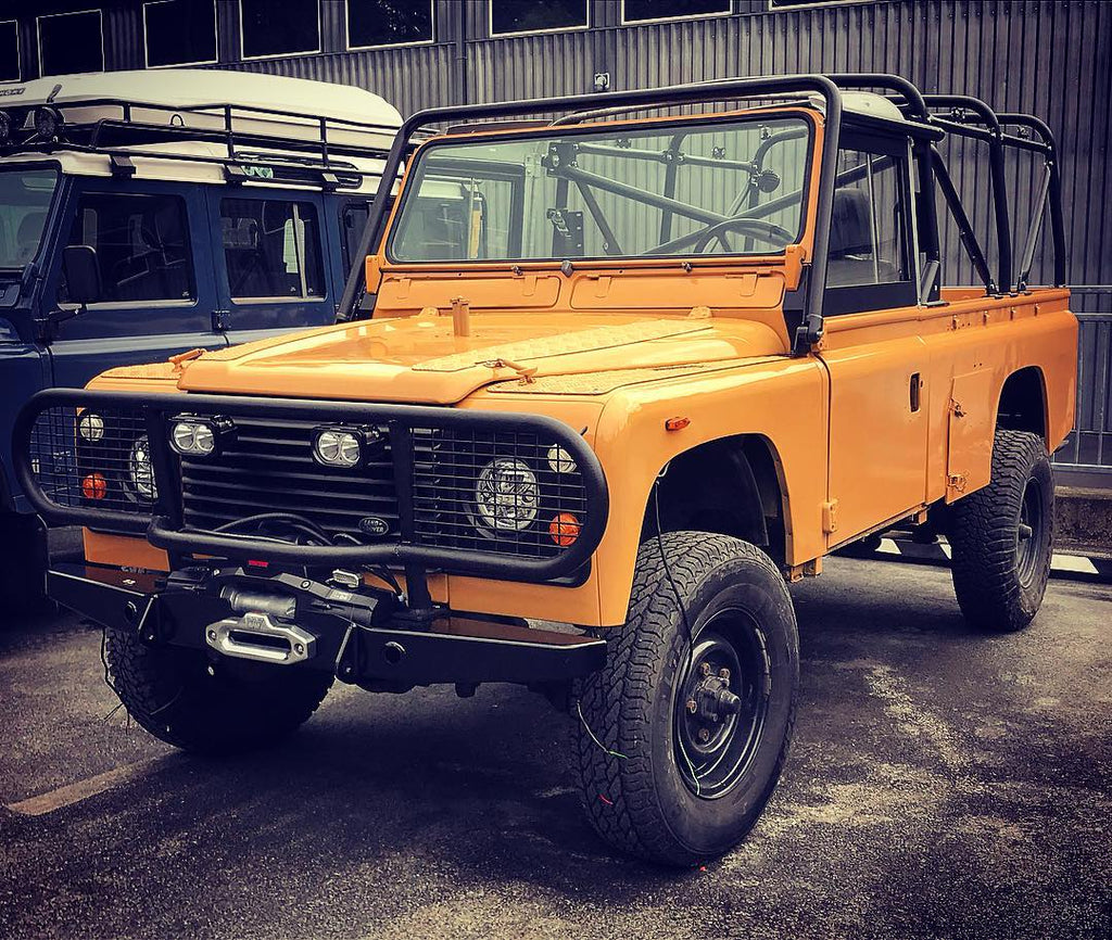 Camel Trophy Tribute - Defenders NW SEMA Project for Autohome USA