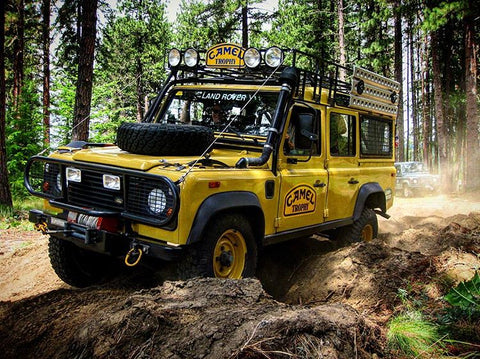 Vehicles Available - 1987 Defender 110 CSW Camel Trophy Support