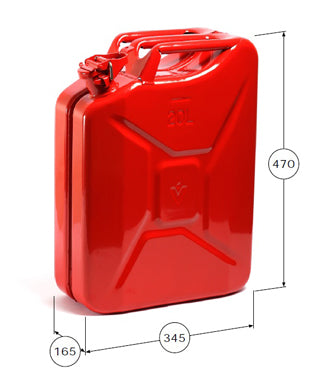 Classic Metal Jerry Can, Wavian Fuel Containers
