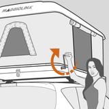 Maggiolina Grand Tour Roof-Top Tent by Autohome