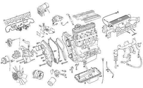 Defender 300Tdi (23L) Engine Parts