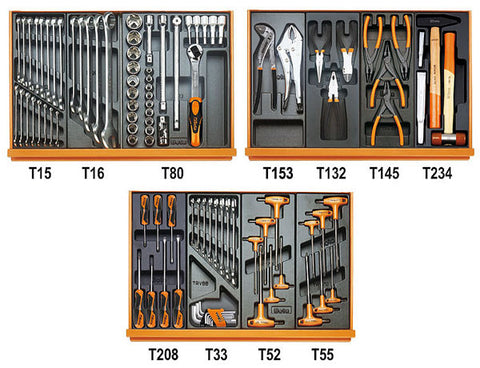 5904VG/2T - Beta Tools 99 Piece Auto Repair Tool Kit