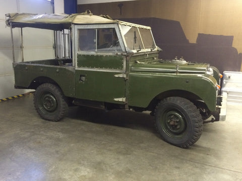 "Vehicles Available - Land Rover 1957 Series I 88"" SWB"