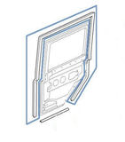 LR024956  Door Seal - RHS, Middle Row, Door 110, 130