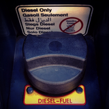 "Decal, ""Diesel Only"""