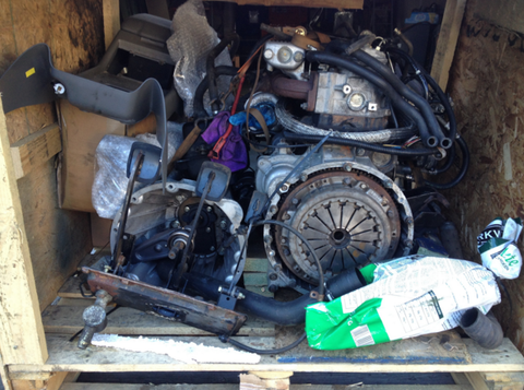 Tdi Engine - Used - Ancillaries, Mounts, & Hardware