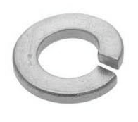 WL108002  M8 SINGLE COIL SPRING WASHER