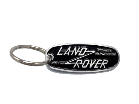 Land Rover plaquard keychain