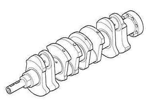 ERR2112 Crankshaft 300tdi