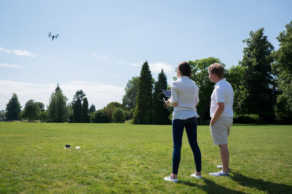 Drone flight training