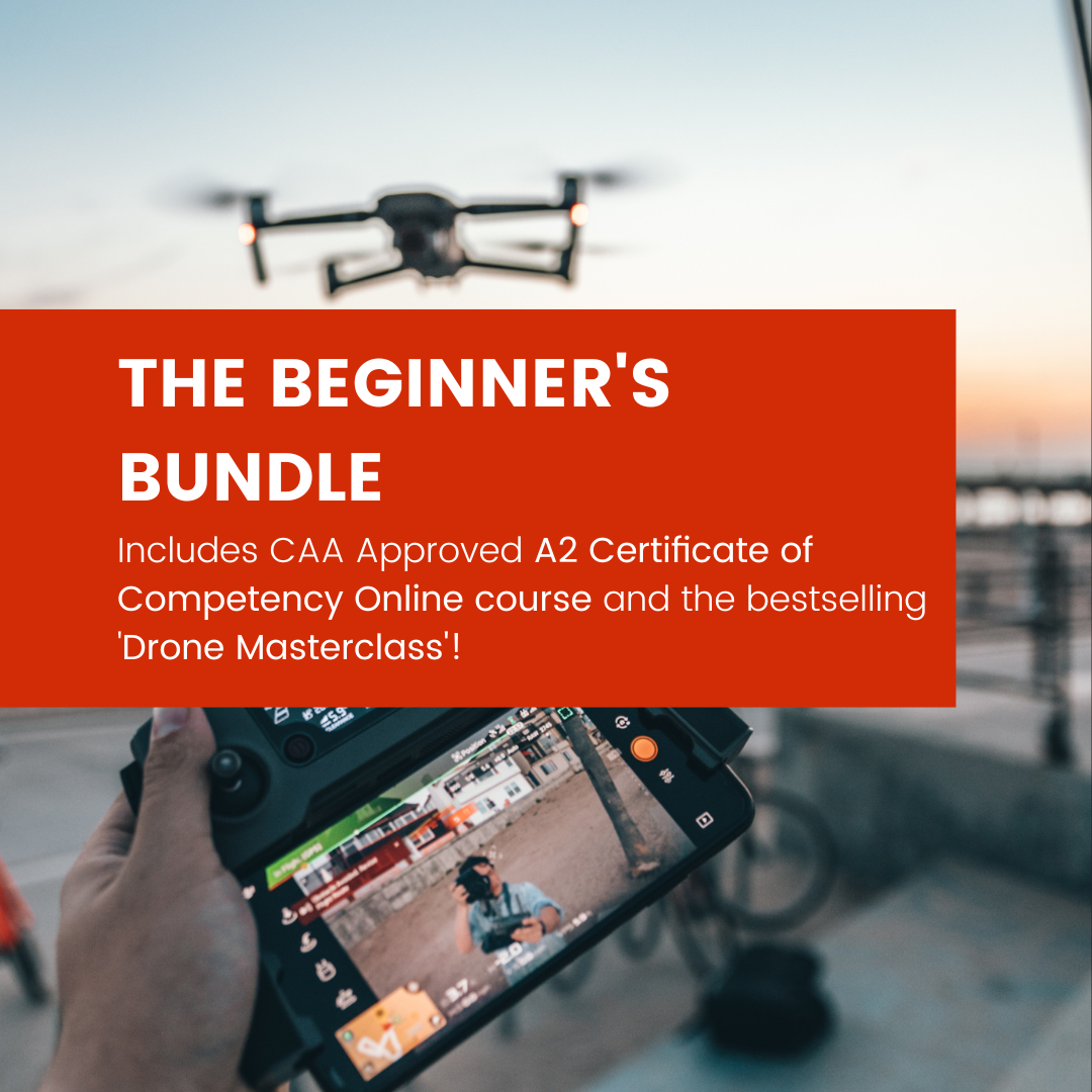 Ultimate Drone Business Starter Bundle - inc. CAA A2 C of C and GVC