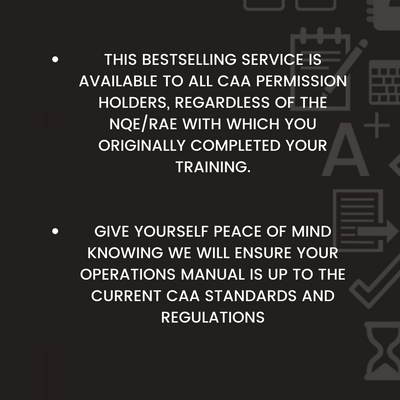 CAA Operations Manual Update Service