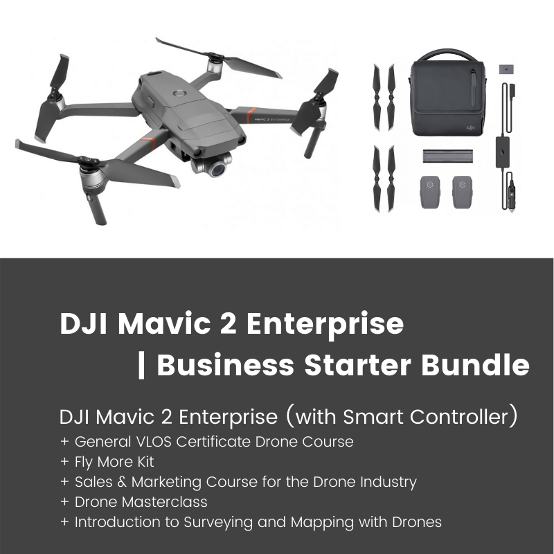 dji mavic 2 enterprise business starter package bundle