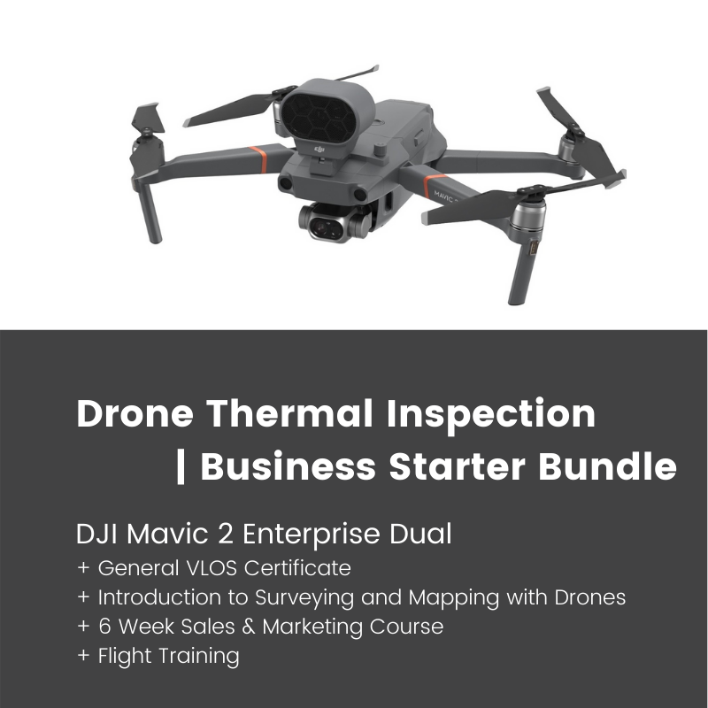 Drone Thermal Inspection Bundle | DJI Mavic 2 Enterprise Dual + GVC Drone Course