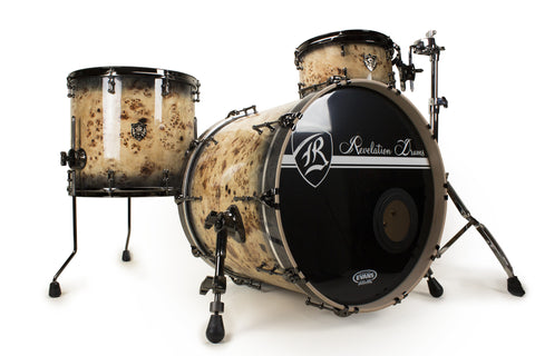 Mappa Burl Veneer Drum Set