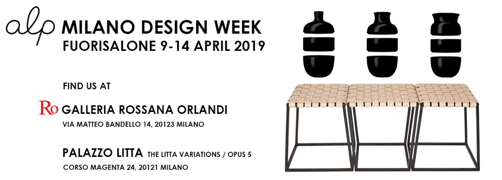 alp at MILANO DESIGN WEEK