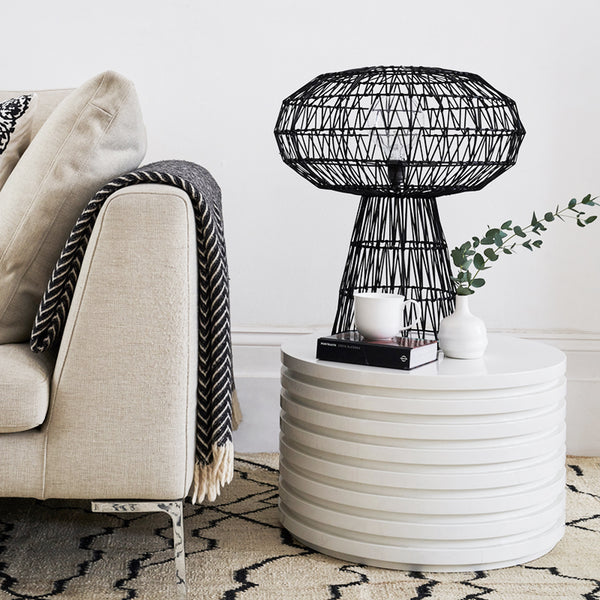 alp table light 310 with black weave