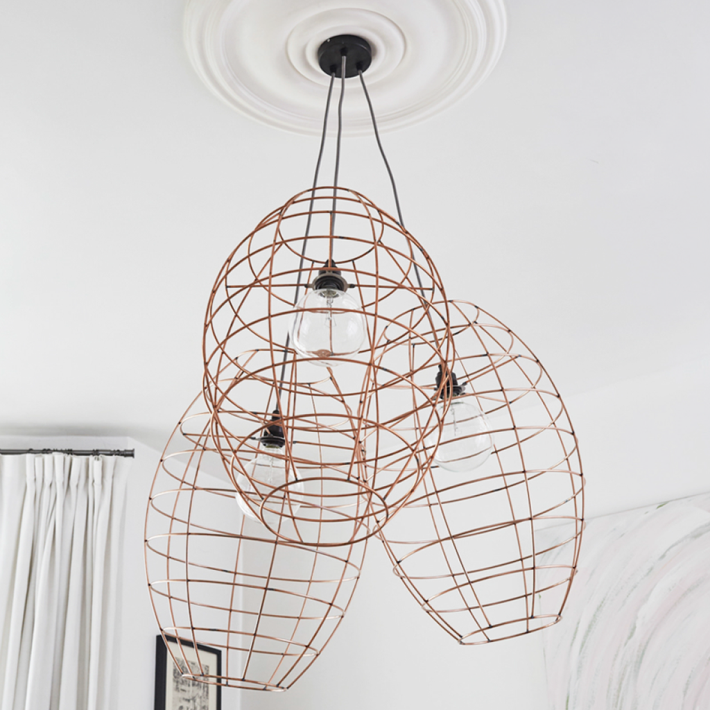 alp large copper wire light 305