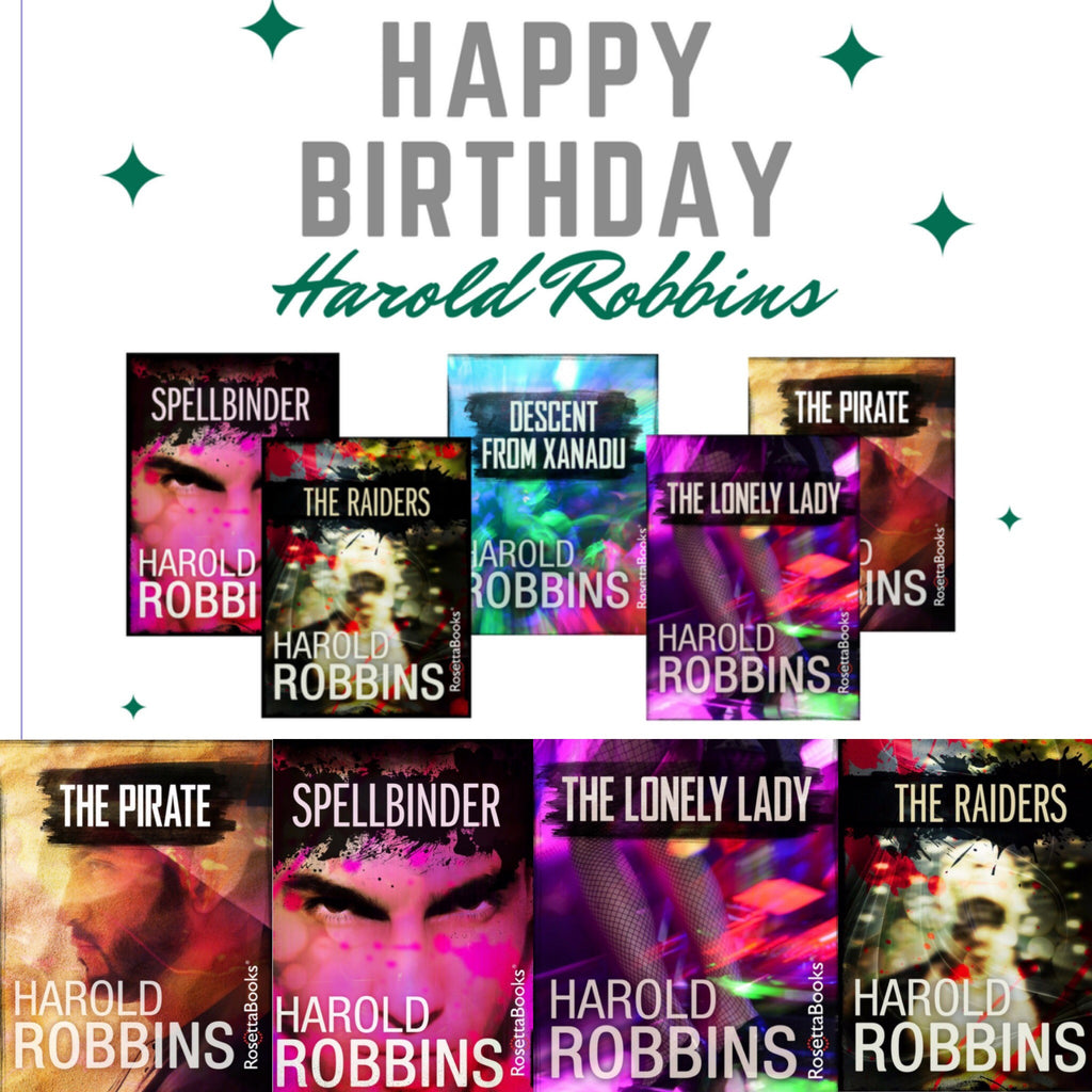Happy Birthday Harold Robbins!