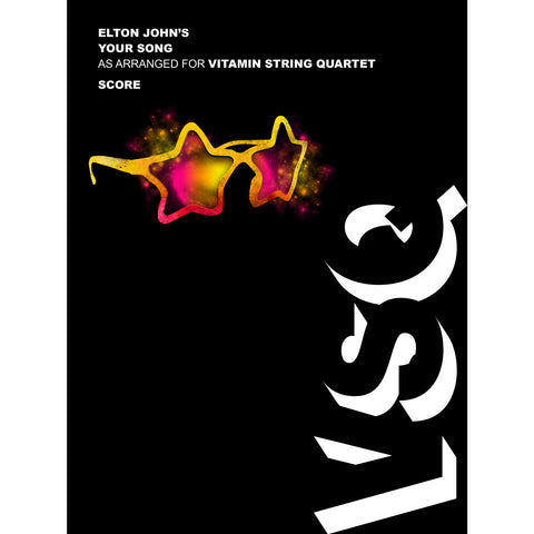 vitamin string quartet vsq elton john your song sheet music