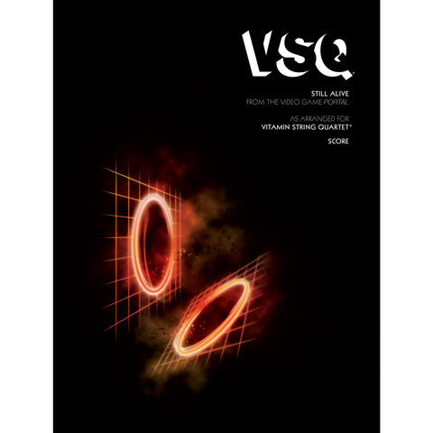 vitamin string quartet vsq portal still alive sheet music
