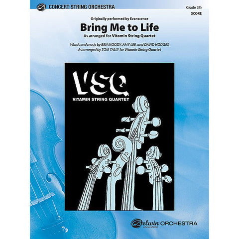 vitamin string quartet vsq evanescence bring me to life sheet music