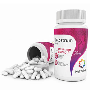 NutraBlast Bovine Colostrum 500Mg Immunoglobulin - Maximum Strength (100 Capsules)