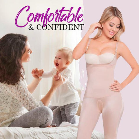 Comfortable and confident after birth shapewear