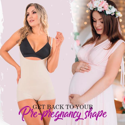 Get back to your pre-pregnancy shape with compression shapewear