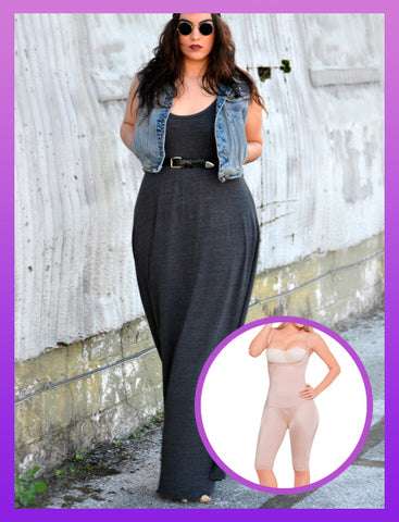 Plus size women shapewear