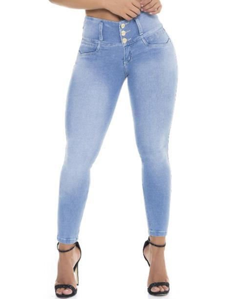 'Monica' Colombian Push Up Jeans Cheviotto 10922