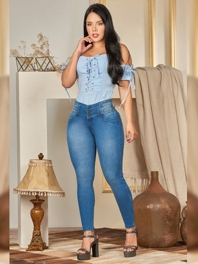 'Rosie' Butt Lift Levanta Cola Jeans 12180