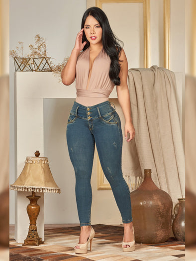 'Lita' Butt Lift Levanta Cola Jeans 12366