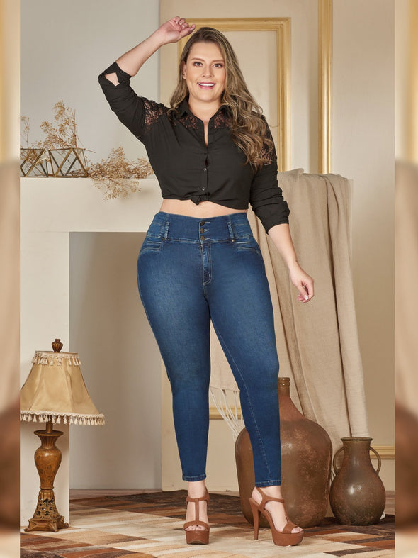 'Chantel' Butt Lift Levanta Cola Jeans 12395